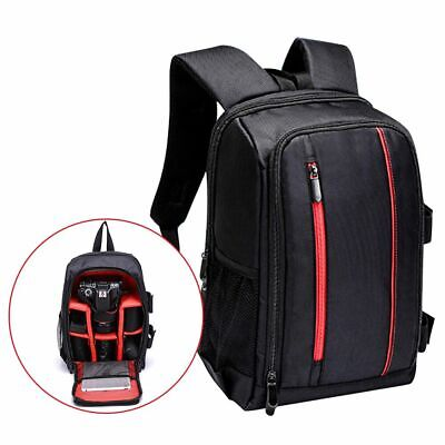 Waterproof Large DSLR Camera Backpack Photography Shoulder Laptop Bag Canon Nike