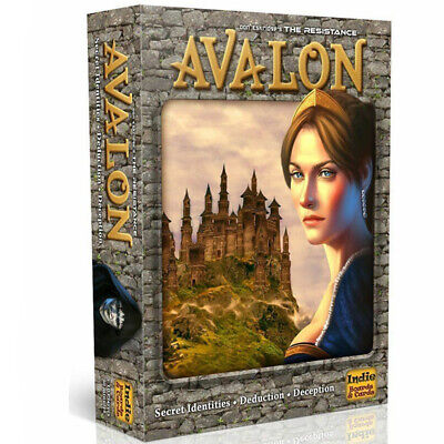 The Resistance Avalon Board Game English Vision Coup Series Family Card Game