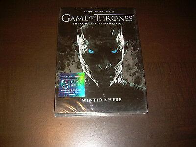 The Complete Seventh Season 7 Seven NEW Sealed Game of Thrones (DVD, 2017)