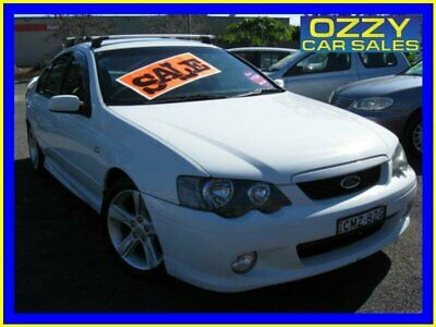 2005 Ford Falcon BA MkII XR6 White Automatic 4sp A Sedan