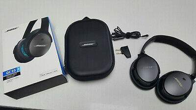 Bose QuietComfort 25 / QC25 Noise Cancelling Wired Headphones - Excellent Cond