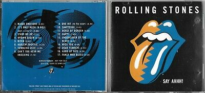 Cd Collector 17 Titres Best Of The Rolling Stones Say Ahhh! De 1989
