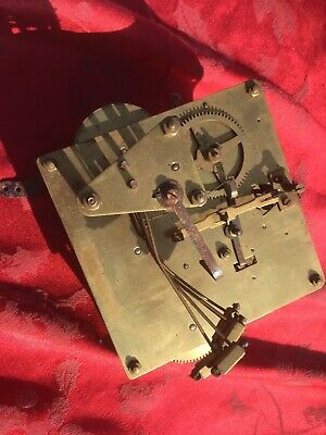 3 Train 5 Gong Clock Movement For Spares Or Repair