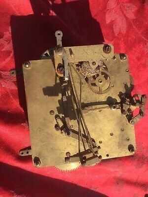 DRGM 5580 3 Train 5 Gong  Clock Movement For Spares Or Repair