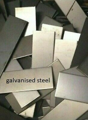 2mm thick  -  GALVANISED STEEL OFF CUTS  -   10KG PACKAGE