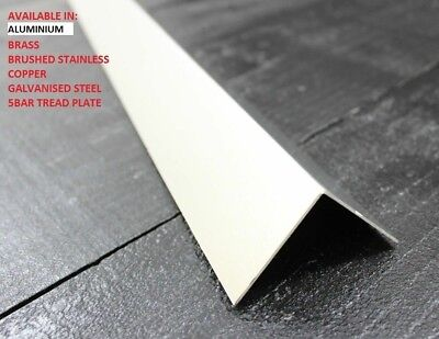 90 degree folded corner protector angle -  ALUMINIUM  - many sizes
