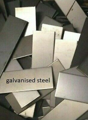 1.5mm thick  -  GALVANISED STEEL OFF CUTS  -   10KG PACKAGE