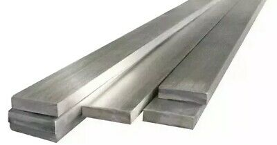 SOLID 304 STAINLESS FLAT BAR - many combinations of length,thickness, width