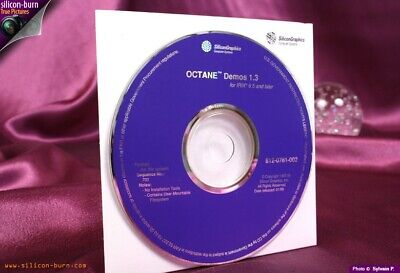 SGI CD-ROM - Silicon Graphics OCTANE DEMOS 1.3 For IRIX