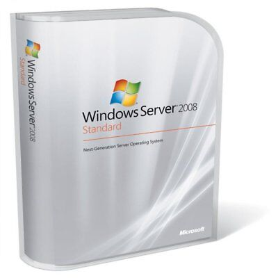 MSFT Windows Server 2008 R2 Standard Edition - 64 BIT - FULL RETAIL LICENSE