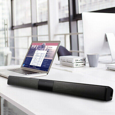 Wireless Bluetooth TV Soundbar 2/4 Speakers Sound Bar Home Theater Subwoofer RCA