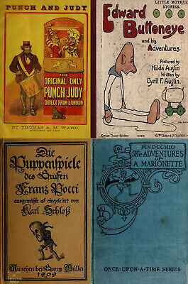 45 Old Rare Books On Antique Dolls Marionette Puppet Doll Making & More On Dvd
