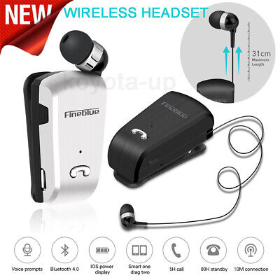 Fineblue L18 Wireless business Bluetooth Headset Sport Driver Earphone with Box