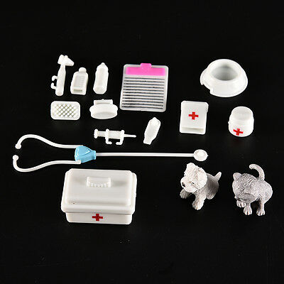 1 Set Fashion Doll Accessories Medical Kit Pets Toy for Baby Girls RR