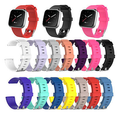 Silicone Smart Watch Band Wrist Strap Replacement for Fitbit Versa Lite/Versa GL
