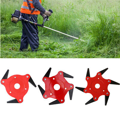 Tools Newest 3 Teeth Brush Cutter Blade Trimmer Metal Blades Trimmer Head 65mn Garden Grass Trimmer Head For Lawn Mower