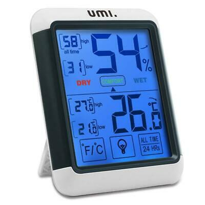 UMI. Essentials Digital Wireless Indoor Thermometer Hygrometer with LCD...
