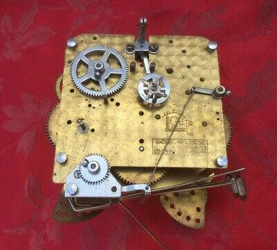 Gufa Forgein Chiming  Clock Movement For Spares Or Repair Good Spring Rare