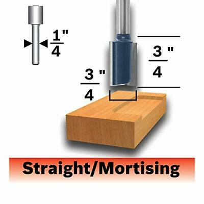 Bosch 85248MC 3/4 In. x 3/4 In. Carbide-Tipped Hinge Mortising Router Bit