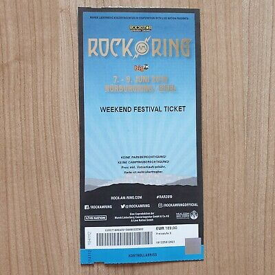 +++ Rock am Ring 2019 - Weekend Festival Ticket