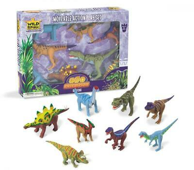 Eco Expedition - Dino Dig - Moveable Action Dinosaur Set from Wild Republic