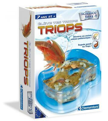 Clementoni – Triops Science Educational Games and 62254.2