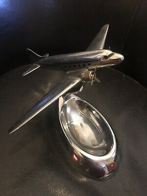 Art Deco Airplane Ashtray