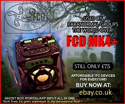 The New Fcd Mk4 Plus (+) Ghost Box Portal Spirit Box Itc Sale Price