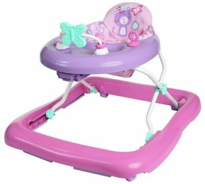 Chad Valley Baby Walker Height Adjustable So That Their Feet Reach Floor Pink
