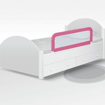 Safety 1st Adjustable Portable Bed Rail Kid's Cot Side Barrier Protection Pink
