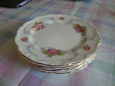 """Royal Albert Tranquility 6.25"""" Bread And Butter Plate England Bone China"""