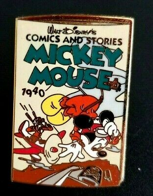 Disney Pin 8120 100 Years of Dreams #67 - Comics and Stories Mickey