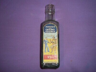 05c92f4e966 VINTAGE CAMP COFFEE & CHICORY bottle. Original cork and contents ...