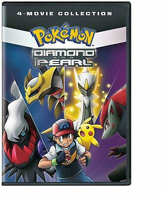 Pokemon: Diamond and Pearl 4 Movie Collection Pack DVD Brand New