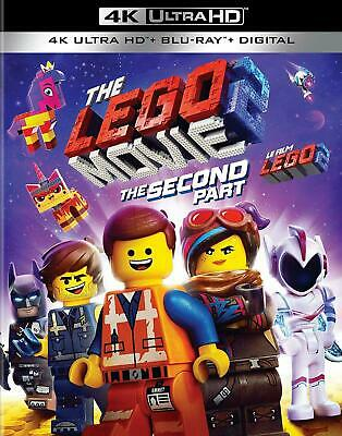 The LEGO Movie 2: The Second Part 4K UHD Ultra HD + Blu-ray + Digital Brand New
