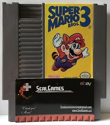 ☆ Super Mario Bros. 3 ☆ (Nintendo Entertainment System, NES 1990) Authentic Oem