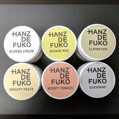 Hanz de Fuko Styling Samples Claymation, Gravity Paste, Quicksand & More 0.5 oz