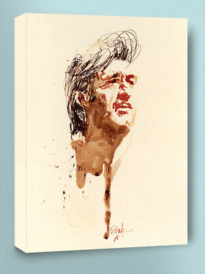 Johnny Cash for TV Guide Art by Bob Peak 1970 9x12 giclee print liquidation SALE