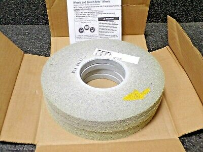 "3M XL-WL Scotch-Brite EX2 Deburring Wheel, 8"" x 1/2"" x 3"" 8S MED, 4 per case"