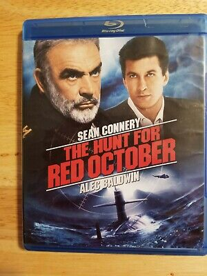 The Hunt for Red October (Sean Connery, Alec Baldwin) Bluray
