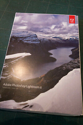 Adobe Photoshop Lightroom 6 Vollversion Windows / Mac alle Sprachen