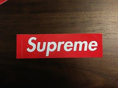 Skateboarding Equipment Grip Tape 100% Authentic Supreme Box Logo