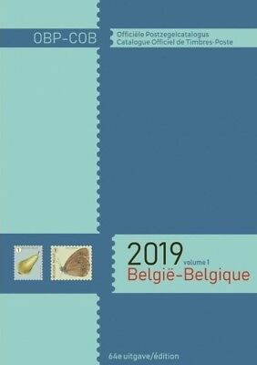 Belgique-België Catalogue de TIMBRES COB 2019