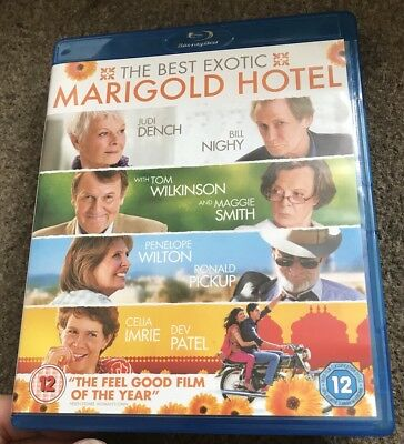 💙 The Best Exotic Marigold Hotel Blu Ray