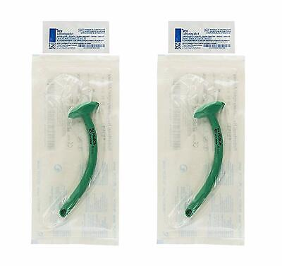 Nasopharyngeal Airway 28 Fr. 9.3Mm With Surgilube Set of 2 Brand New
