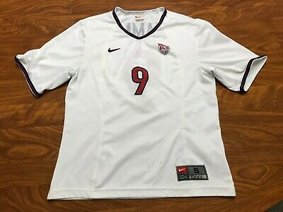 e3d062859b5 Womens Vintage Nike Dri Fit Team Usa Mia Hamm White Soccer Jersey Size Small