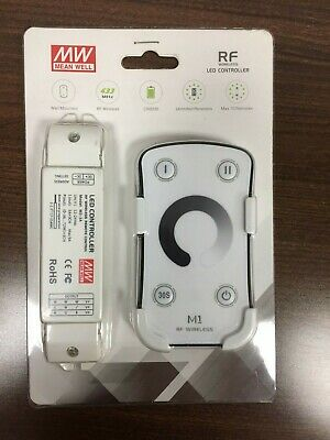 MEANWELL LED RF Touch Wireless Controller With Wall Mount