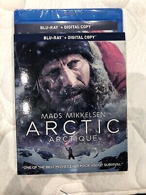 Arctic 2019 Mads Mikkelsen Blu Ray w Slip Cover Canada LOOK