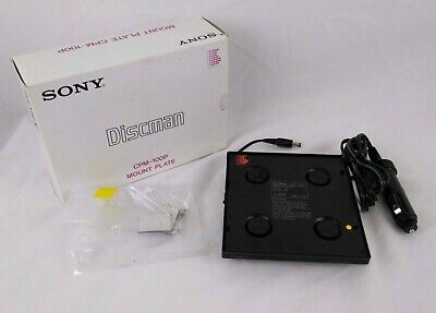 Sony Discman Car Mount Power Adapter CPM-100P for CD Player B6