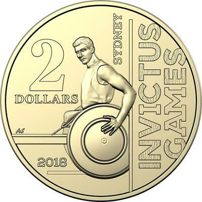 2018 Invictus Games Australian $2 Dollar Coin - From Mint Bag